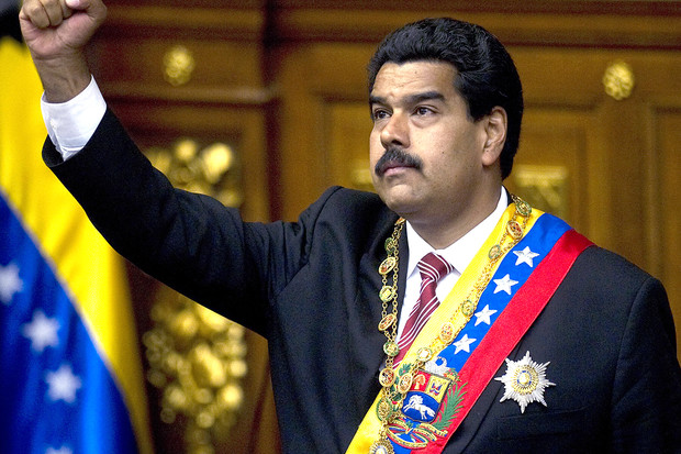 Venezuela's President Nicholas Maduro - image from London Evening Post.jpg
