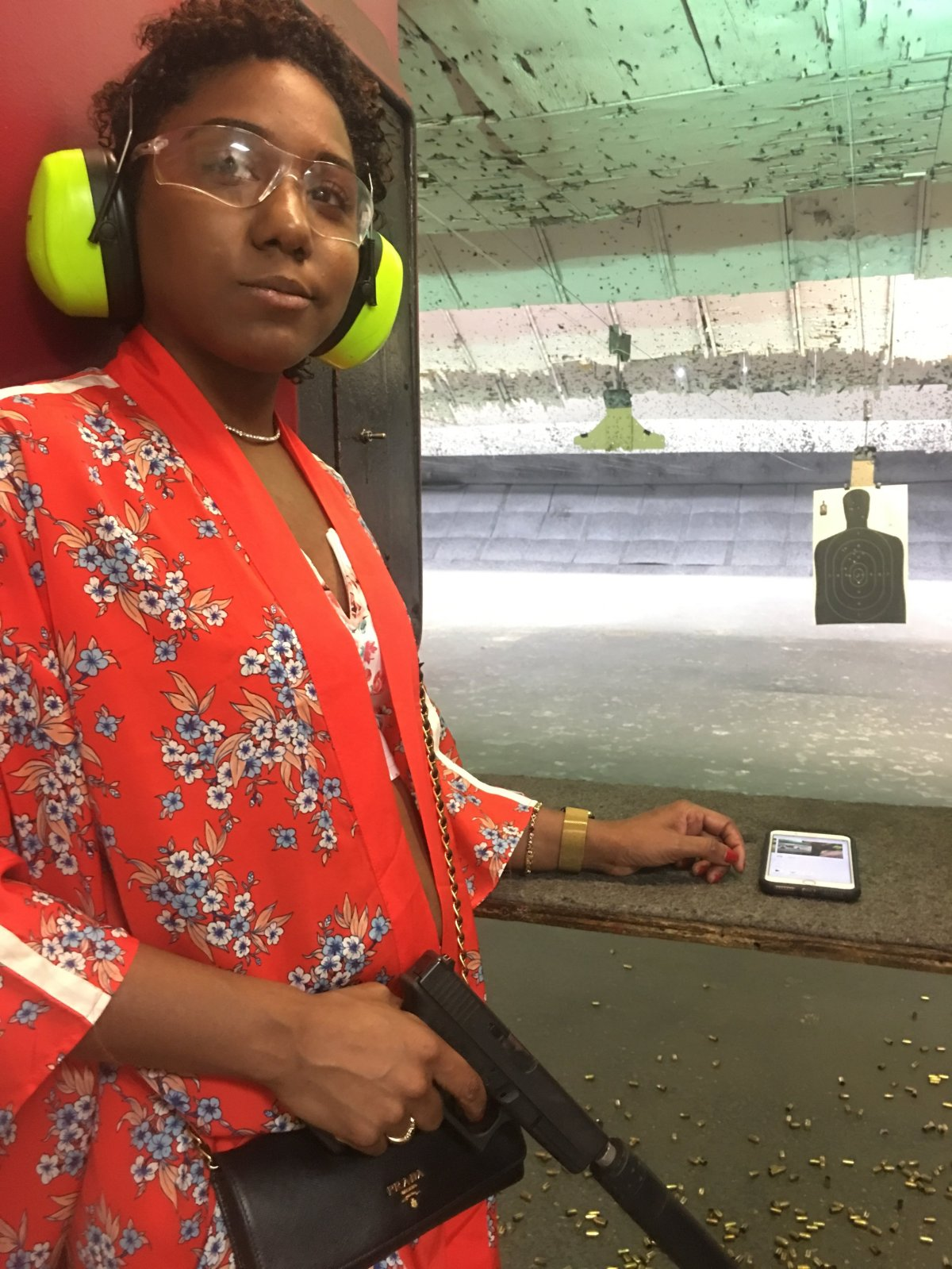 Me @ the PEMBROKE GUN RANGE
