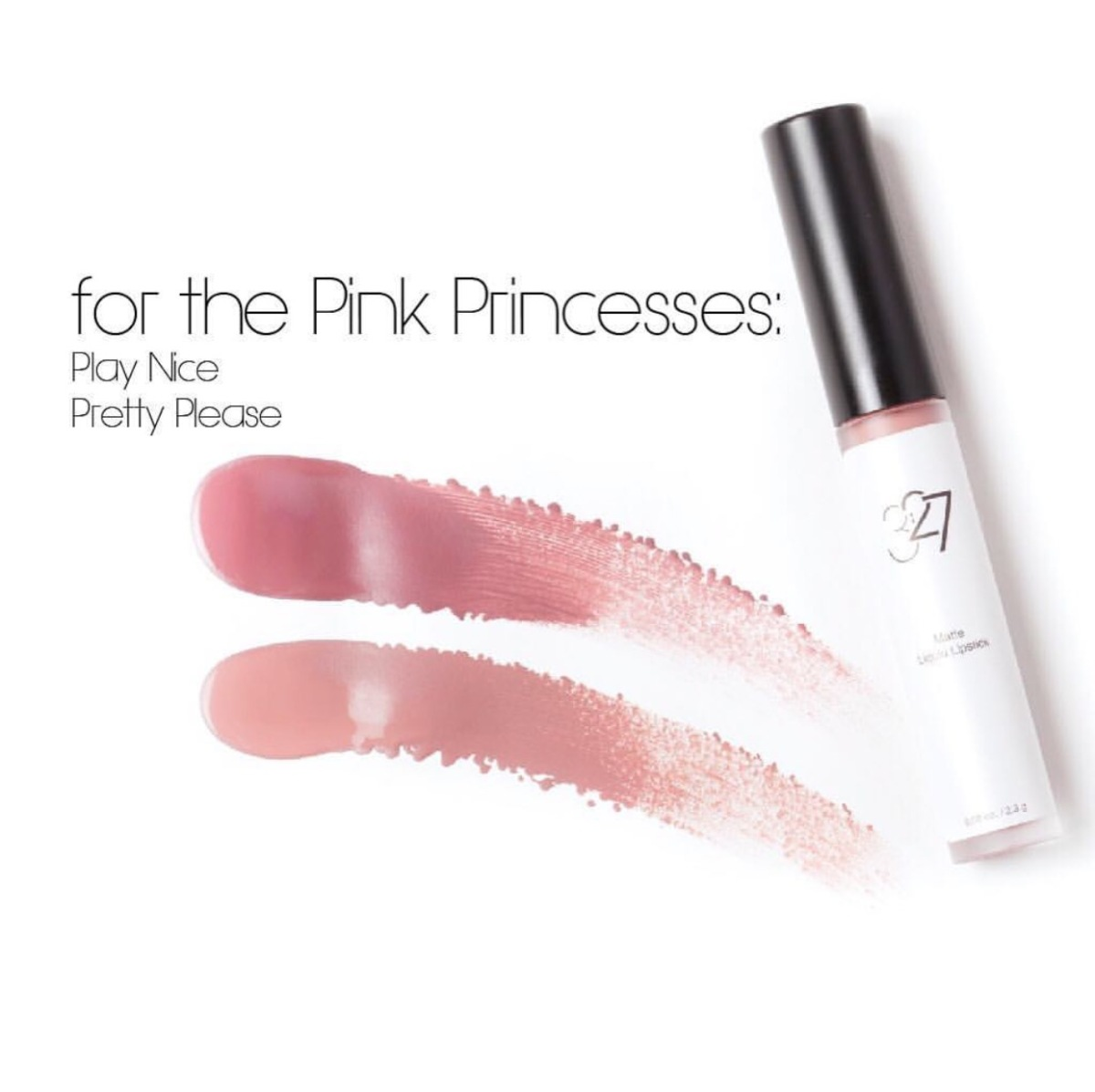 Click here  to read the review for  327cosmetics Pink Princess colors!