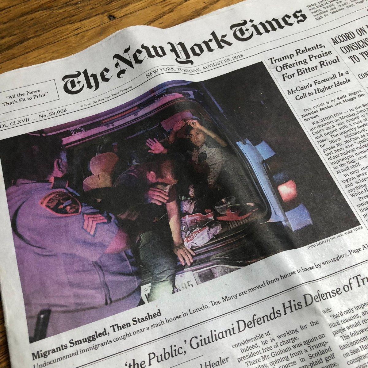NY Times 8.26.18