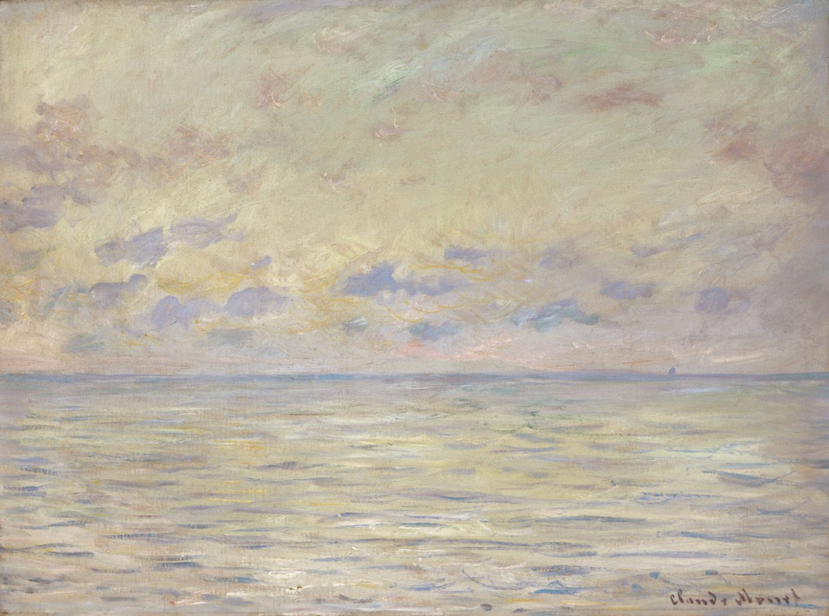 Marine near ÉtretatClaude Monet, French, 1840 - 1926Geography: Made in France, Europe Date: 1882Medium: Oil on canvasDimensions: 21 1/2 x 29 1/16 inches (54.6 x 73.8 cm)