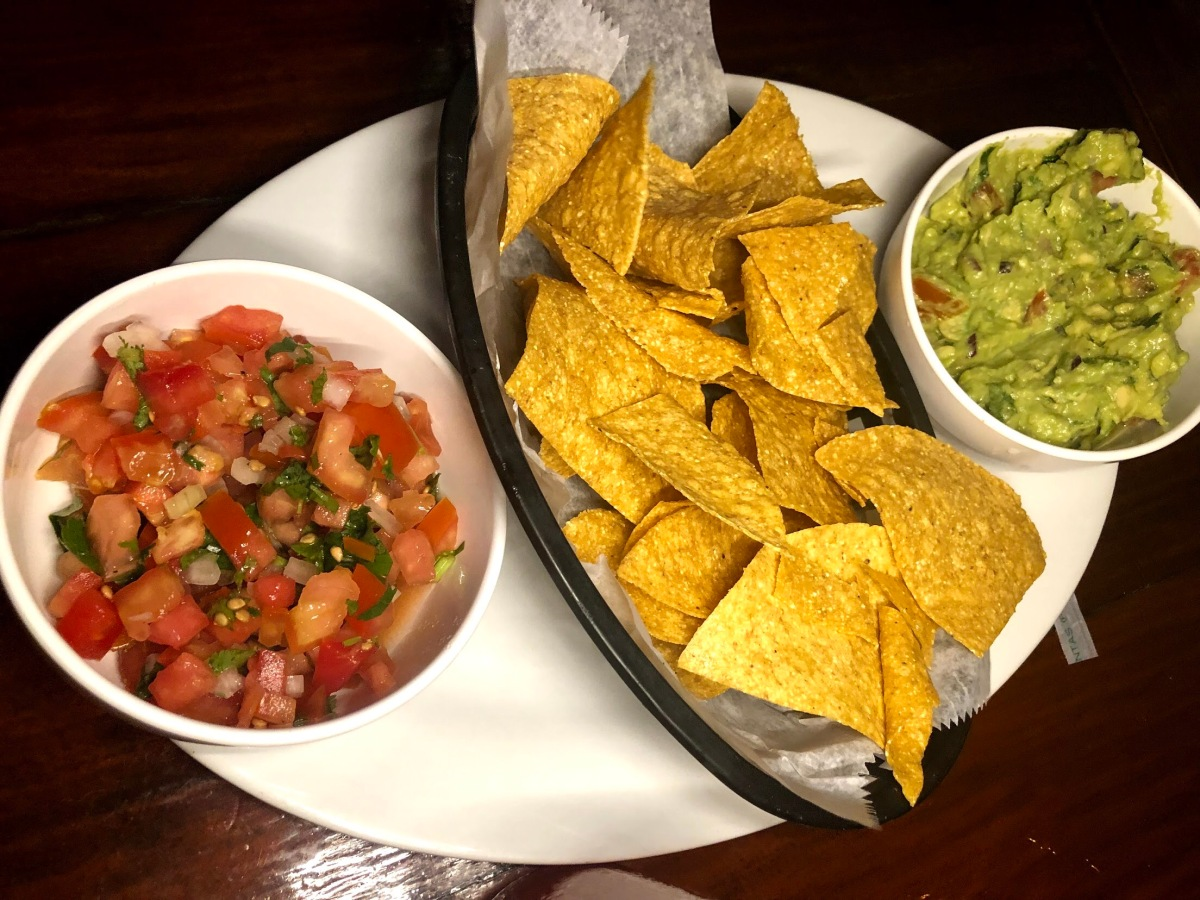 Free chips & guac for the table!