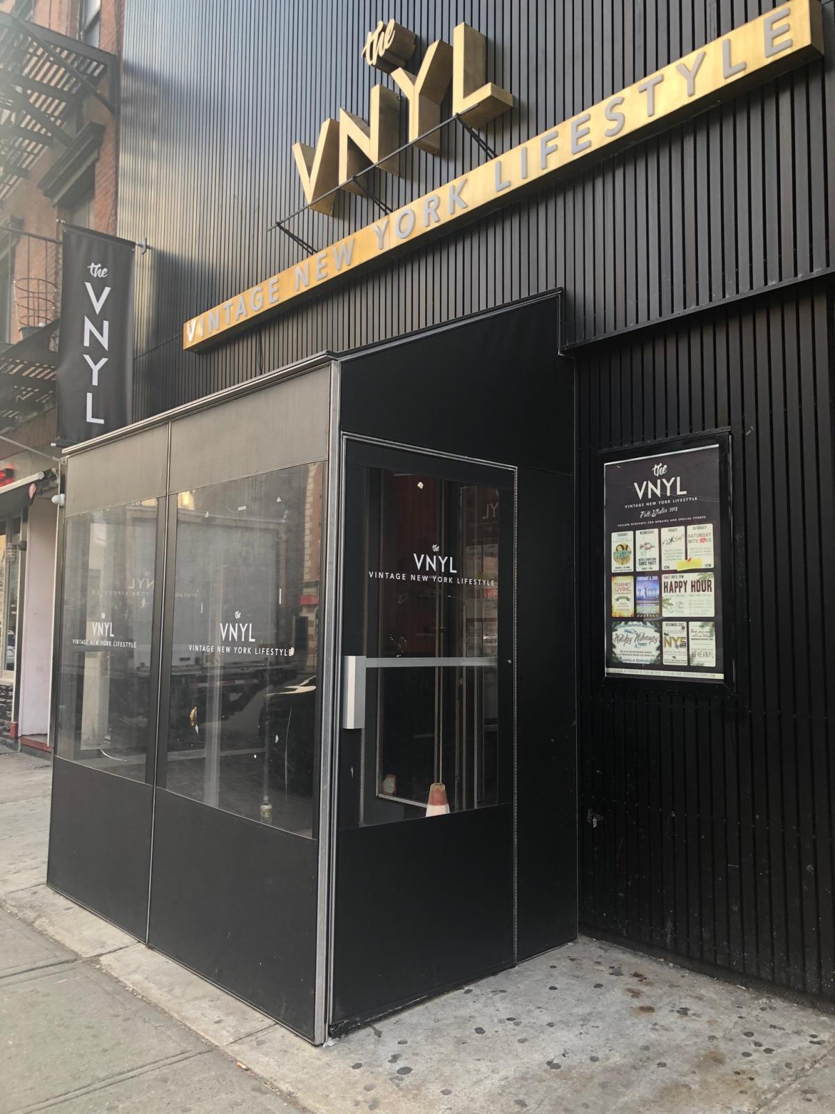 the VYNL event venue